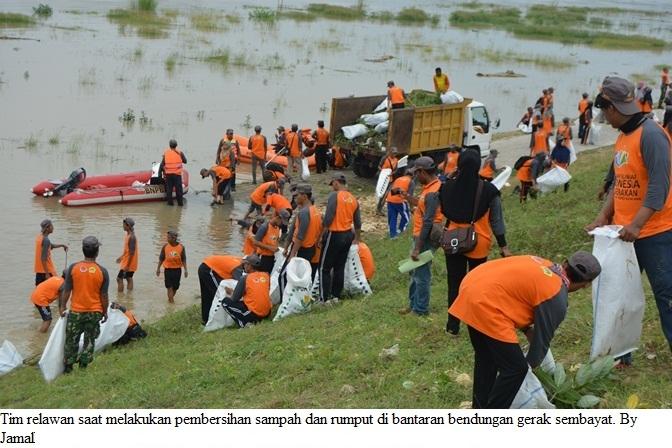 Bpbd Kabupaten Gresik Gandeng Seribu Relawan Bersih Sungai Dsc 0001