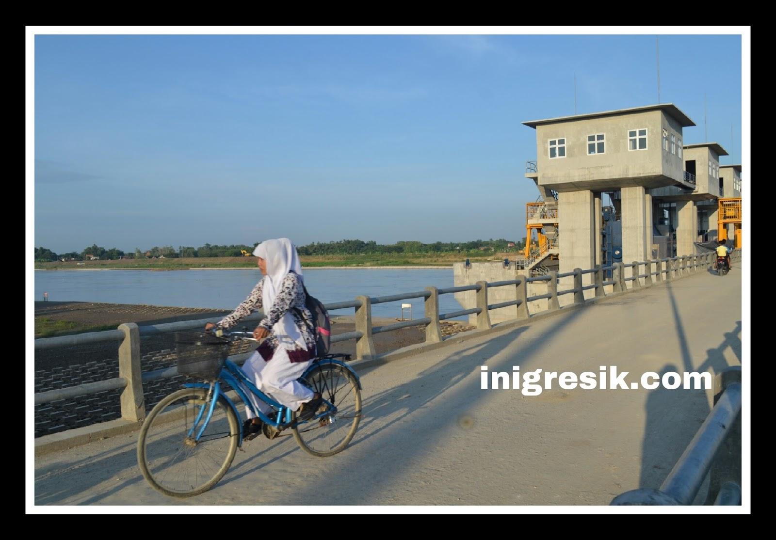Kumpulan Foto Kondisi Bendung Gerak Sembayat Official Website Kab Gresik