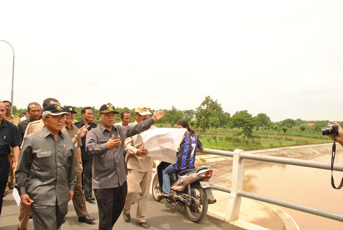 Sembayat Barrage Disetujui Menteri Pu Topik Hari Lamongan Rencana Pembangunan