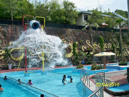 Bukit Awan Water Park Waterpark Gresik Kab