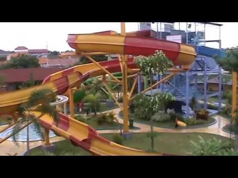 Dynasty Water World Gkb Gresik Youtube Bukit Awan Waterpark Kab
