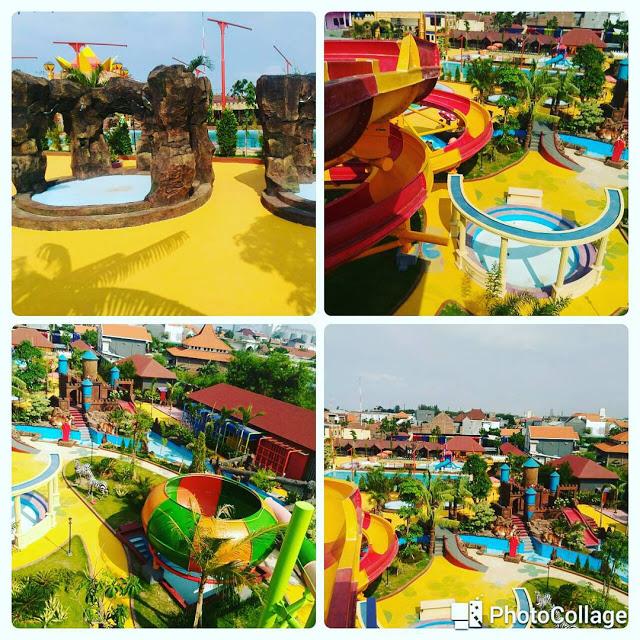 Dynasty Water World Waterpark Keren Gresik Kota Foto Wahana Taman