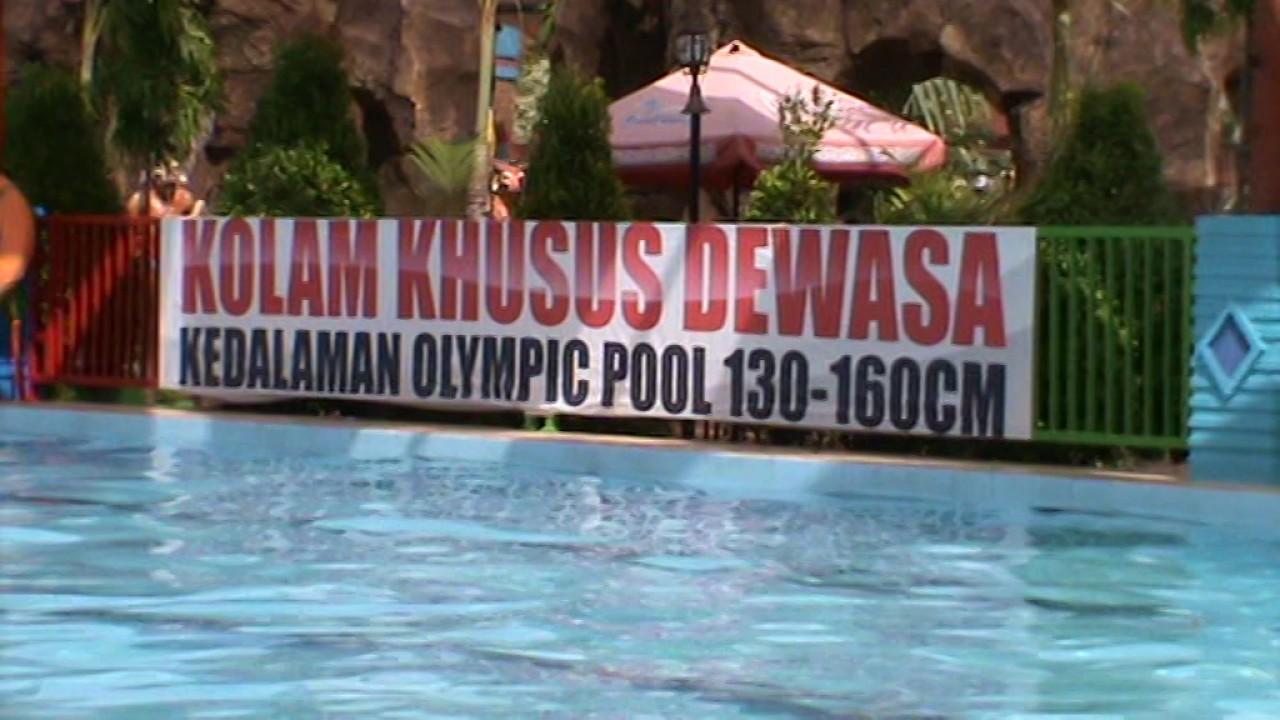 Kolam Renang Dewasa Dinasty Water World Gresik Jawa Timur Youtube