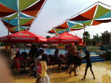 Mencoba Wahana Dynasty Waterworld Gresik Seru Mas Dani Blog Semi