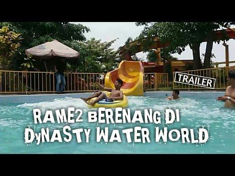 Trailer Rame Berenang Dynasty Water World Gresik Youtube Kab