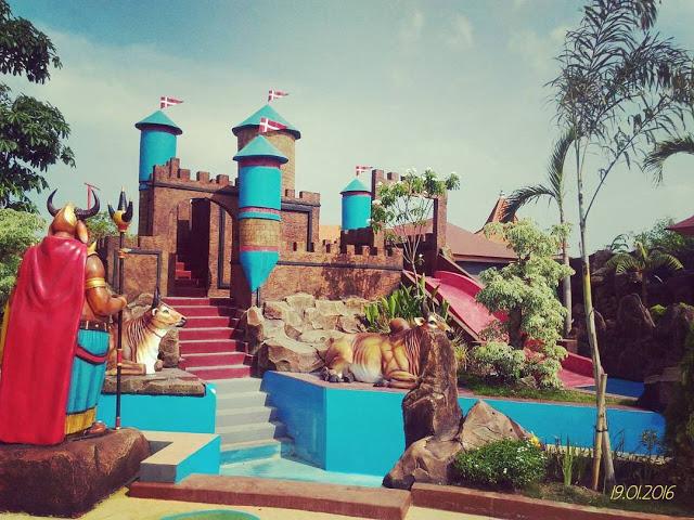 Water World Waterpark Keren Gresik Kota Dynasty Kab