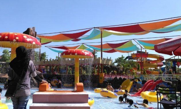 Wisata Dynasty Water World Gresik Harga Tiket Masuk Kab