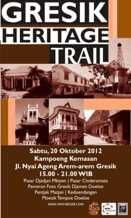 Mataseger Gresik Heritage Trail 2012 Jelajah Pusaka Kota Budaya Kampung
