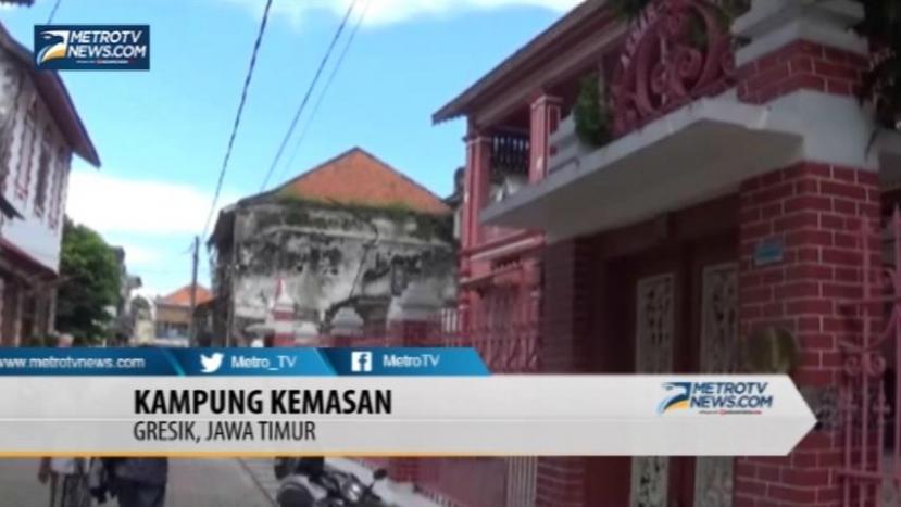 Metro News Kampung Kemasan Wujud Tempo Dulu Kota Gresik Kab