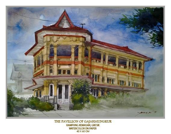 Pelestarian Kampung Kemasan Kota Kabupaten Gresik Trip Lukisan Salah Satu