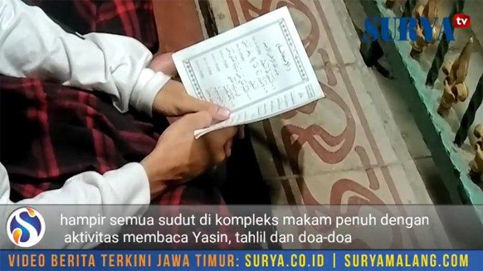 Ribuan Warga Berkumpul Makam Sunan Giri Gresik Tribunnews Kab
