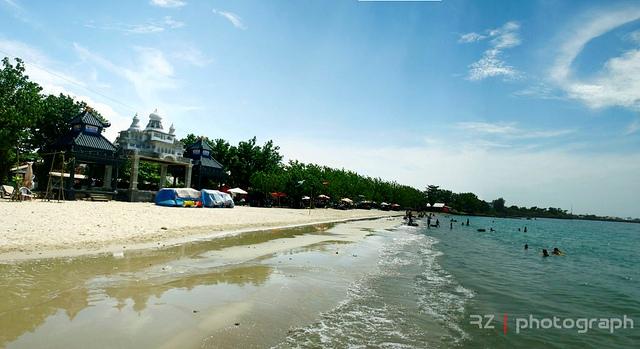 Kabupaten Gresik Updatewisata Pantai Delegan Pesona Butiran Pasir Putih Lembut
