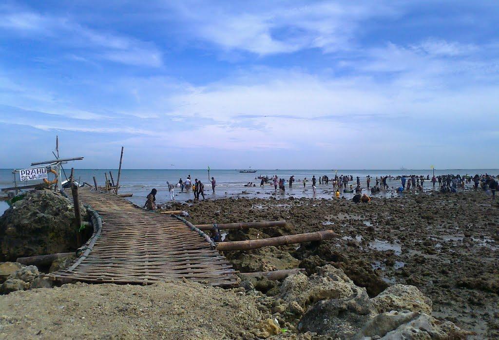 Pantai Dalegan Pasir Putih Gresik Informasi Wisata Delegan Kab