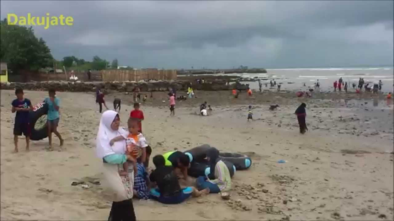 Pantai Pasir Putih Dalegan Panceng Gresik Jawa Timur Youtube Kab