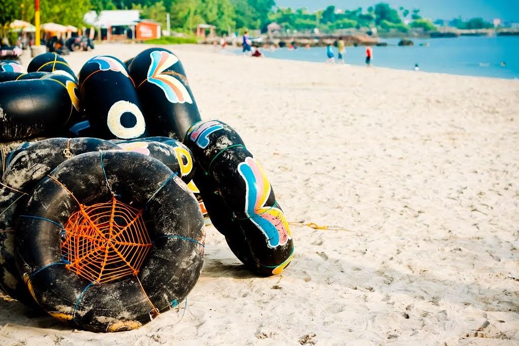 Pesona Wisata Gresik Pantai Delegan Surowiti Nenghepi Jawa Timur Dalegan