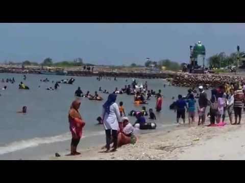 Wisata Pantai Delegan Gresik Youtube Dalegan Kab