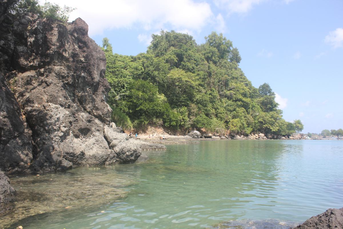 Pantai Ria Website Wisata Gresik Kuburan Panjang Kab