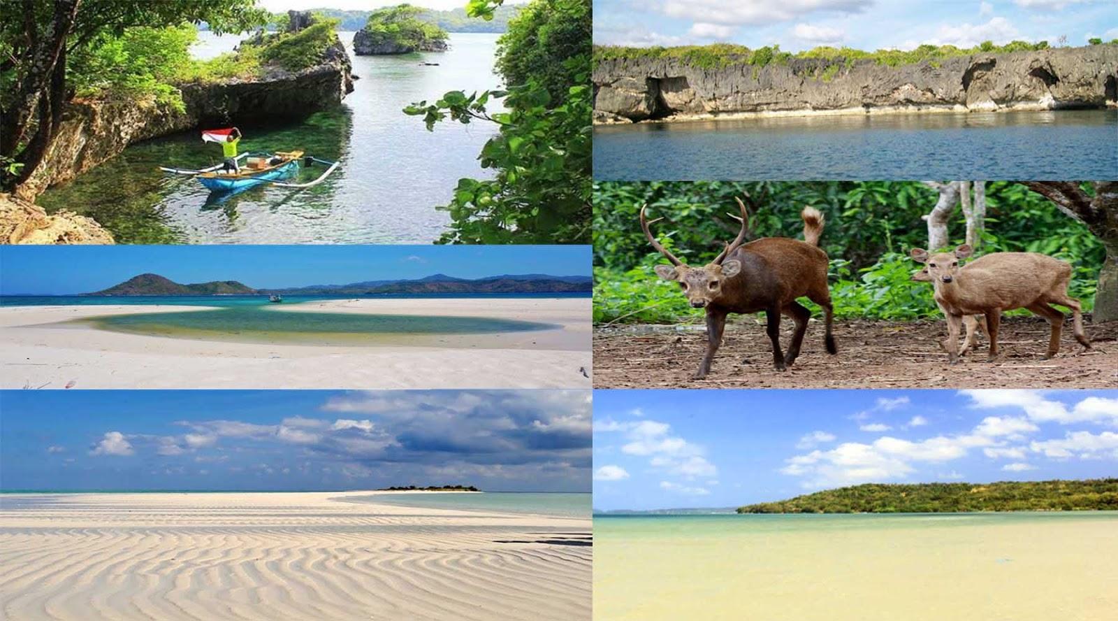 Wisata Pantai Pulau Bawean Gresik Pesona Kuburan Panjang Kab