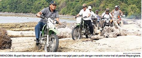 Pantai Pasir Putih Mayangkara Bawean Media Pemandangan Tidak Biasa Gresik