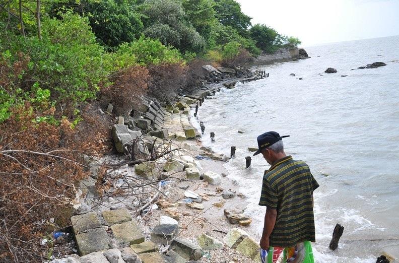 Eksotisnya Pantai Mengare Gresik Jawa Timur Mengareh Terletak Kota Menyimpan