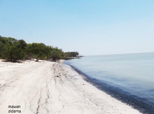 Pantai Mengare Mulai Rusak Oleh Mawan Sidarta Kompasiana Pasir Putih