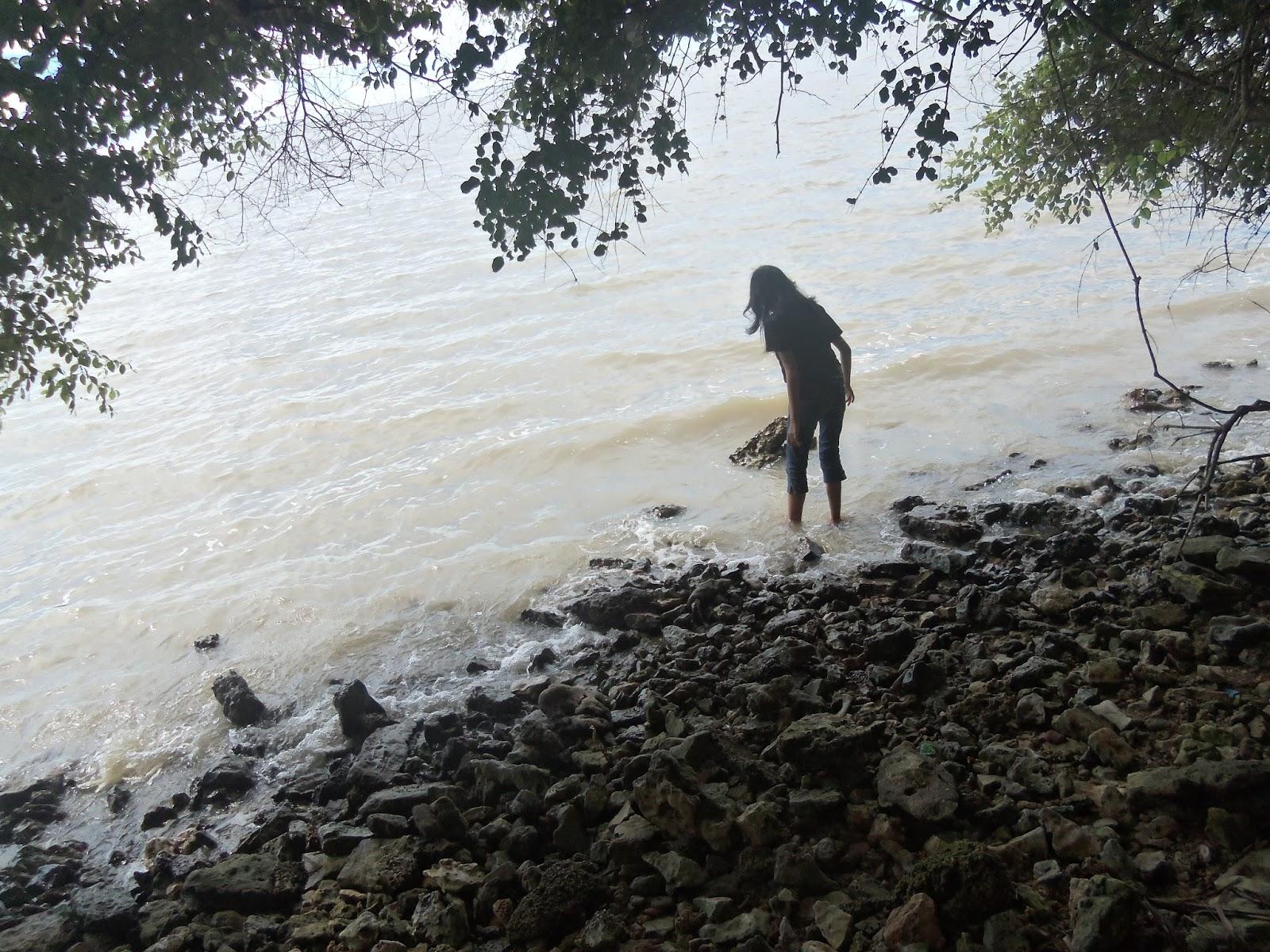 Pulau Benteng Mengare Kec Bungah Kab Gresik 04 April 2015