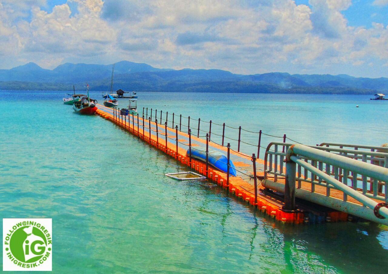 Pulau Gili Noko Surga Bahari Tersembunyi Kabupaten Gresik Pantai Pasir