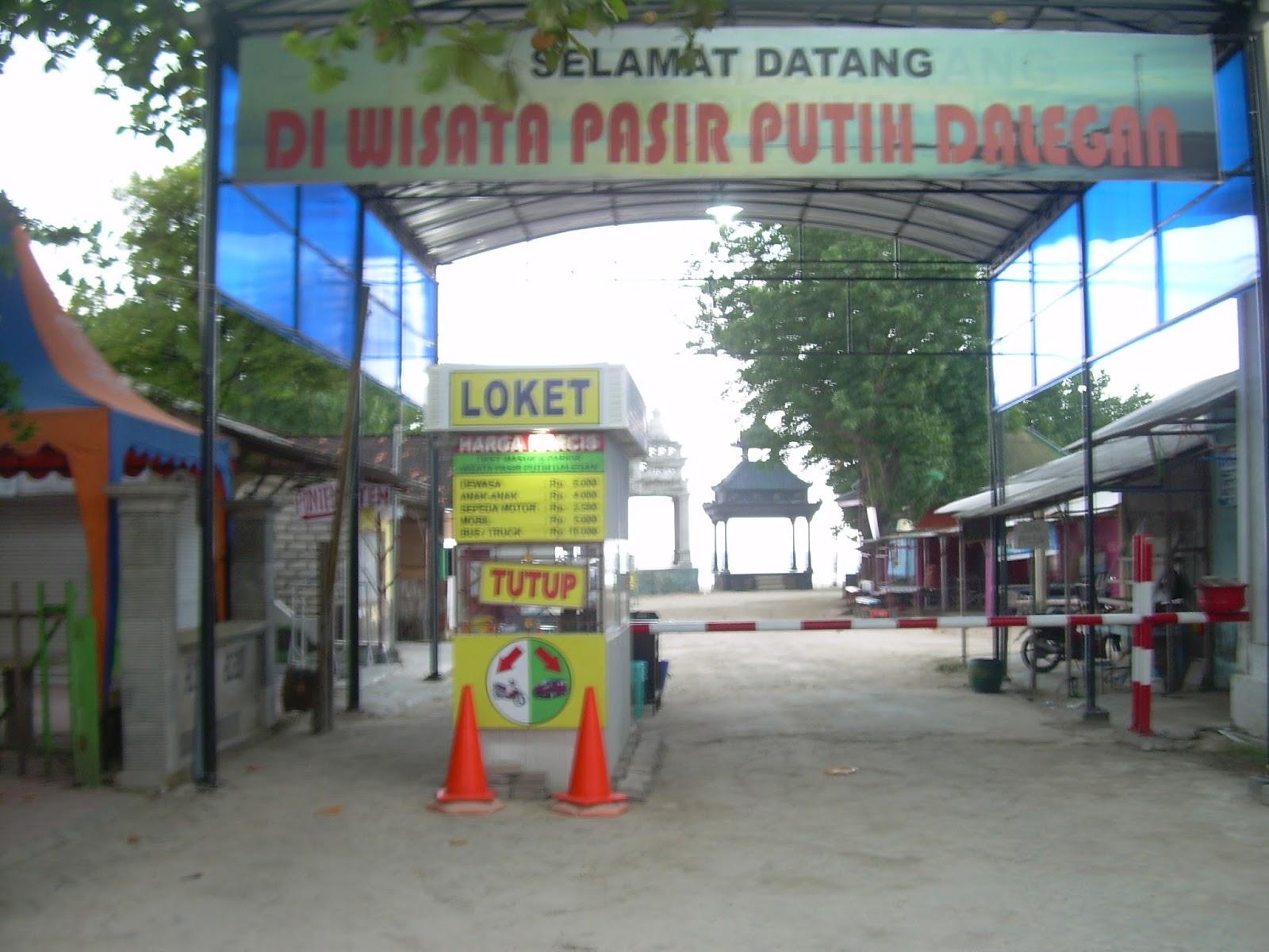 Wisata Kota Gresik Ndok Pantai Pasir Putih Dalegan Panceng Pulau
