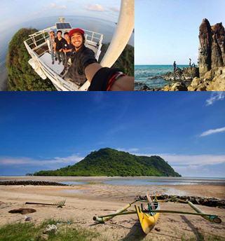 Kumpulan Tempat Wisata Gresik Pulau Cantik Bernama Gili Noko Air