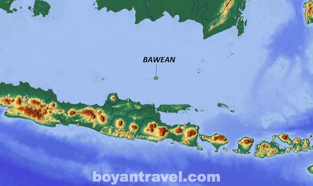Pulau Bawean Gresik Wisata Penangkaran Rusa Kab