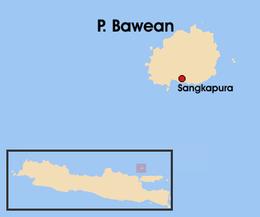 Bawean Wikipedia Peta Pulau Png Kab Gresik