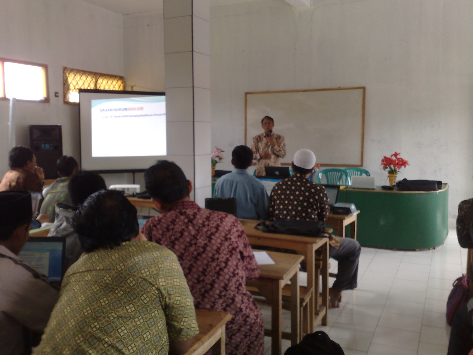 Kegiatan Spm Wilayah Pulau Bawean Kab Gresik Pengawas