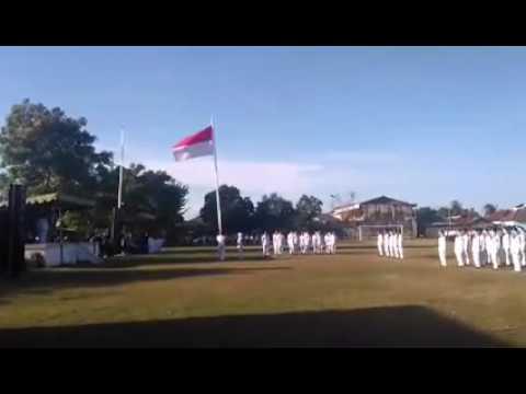 Upacara Penurunan Bendera Kecamatan Tambak Pulau Bawean Kabupaten Gresik Youtube