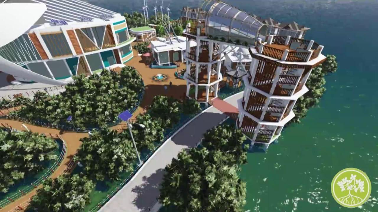 Pusat Penelitian Pengembangan Mangrove Samboja Youtube Banyuurip Kab Gresik