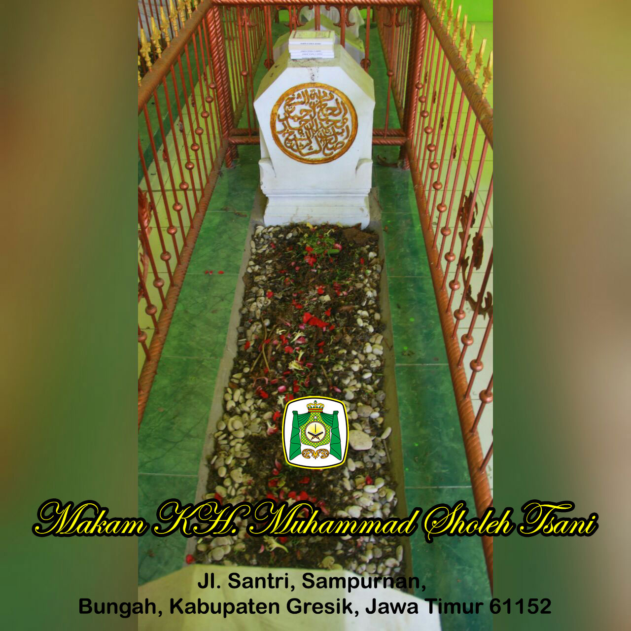 Kh Muhammad Sholeh Tsani Almunawwarah Trans Situs Giri Kedaton Makam