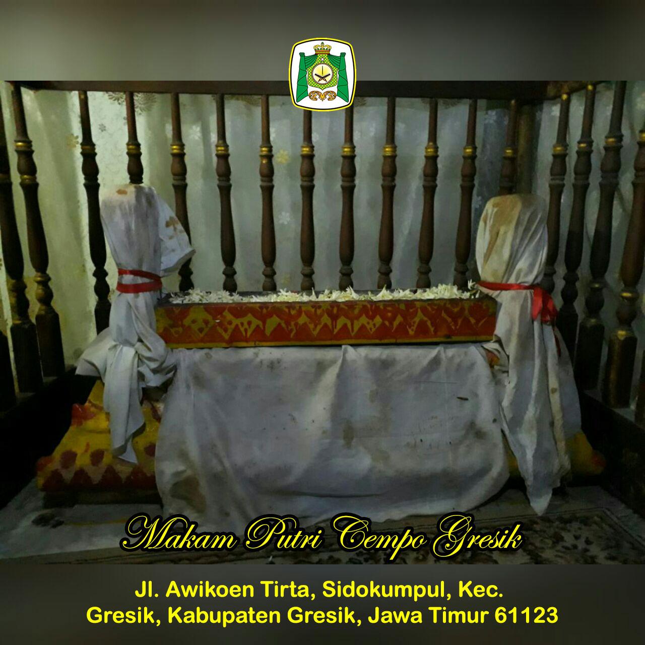 Putri Cempo Gresik Almunawwarah Trans Situs Giri Kedaton Makam Raden