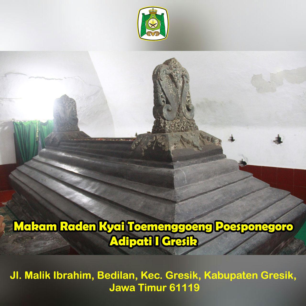 Raden Kyai Tumenggung Poesponegoro Almunawwarah Trans Makam Adipati Gresik Situs