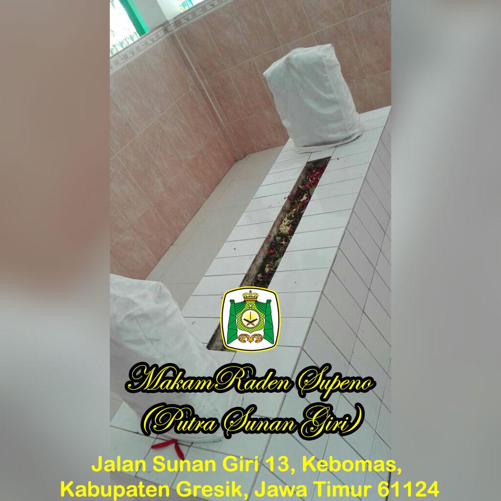 Raden Supeno Almunawwarah Trans Makam Situs Giri Kedaton Kab Gresik