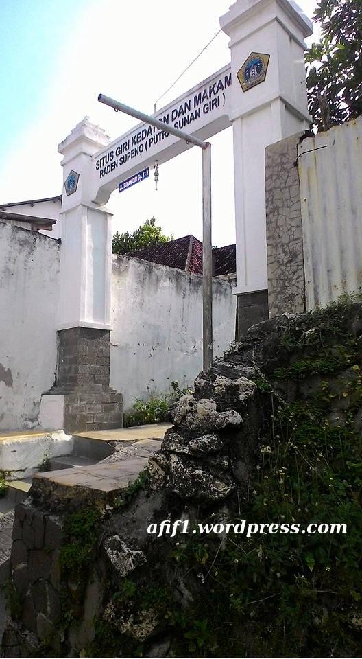 Situs Giri Kedaton Muhammad Afif Effendi Blog Gerbang 1 Makam