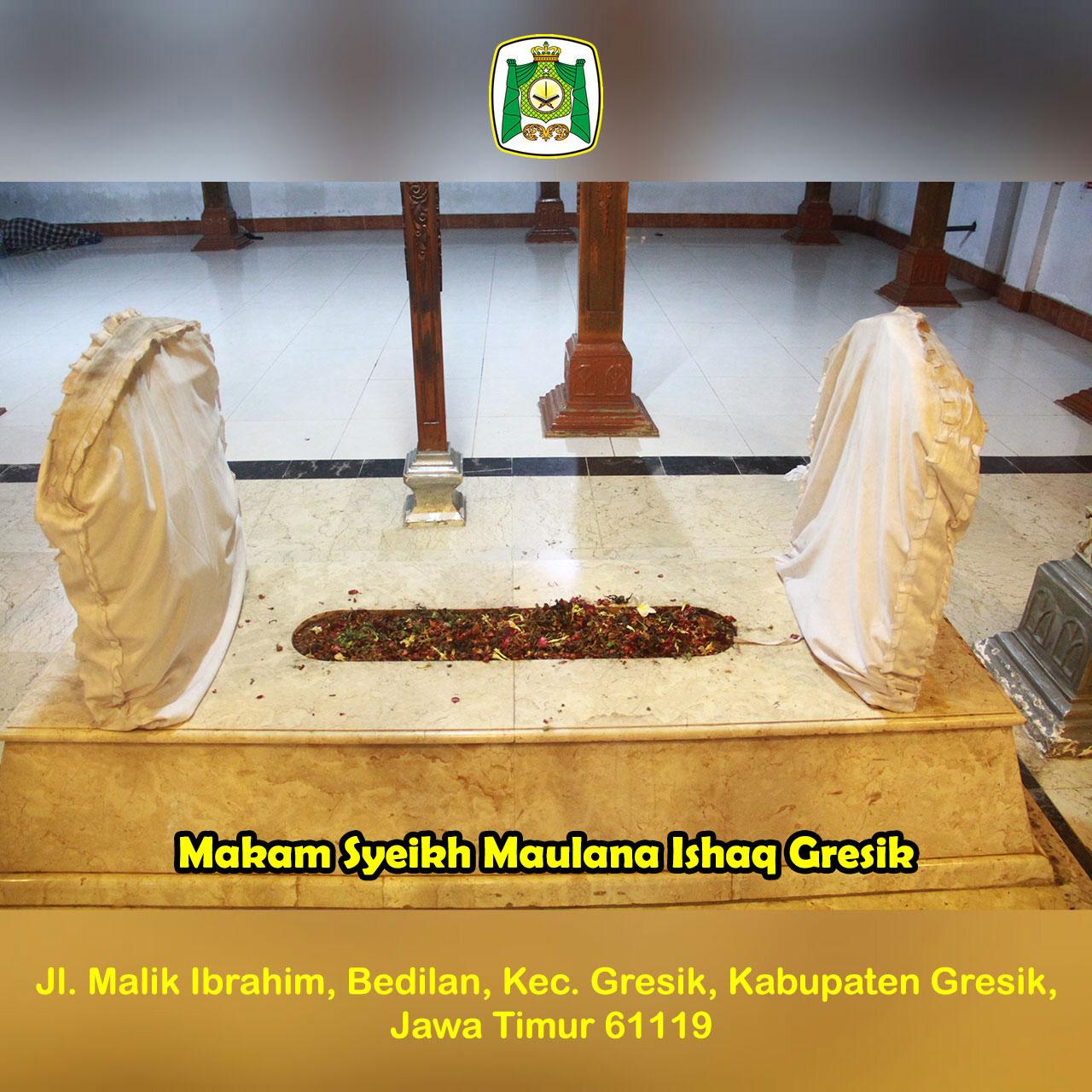 Syeikh Maulana Ishaq Gresik Almunawwarah Trans Makam Situs Giri Kedaton