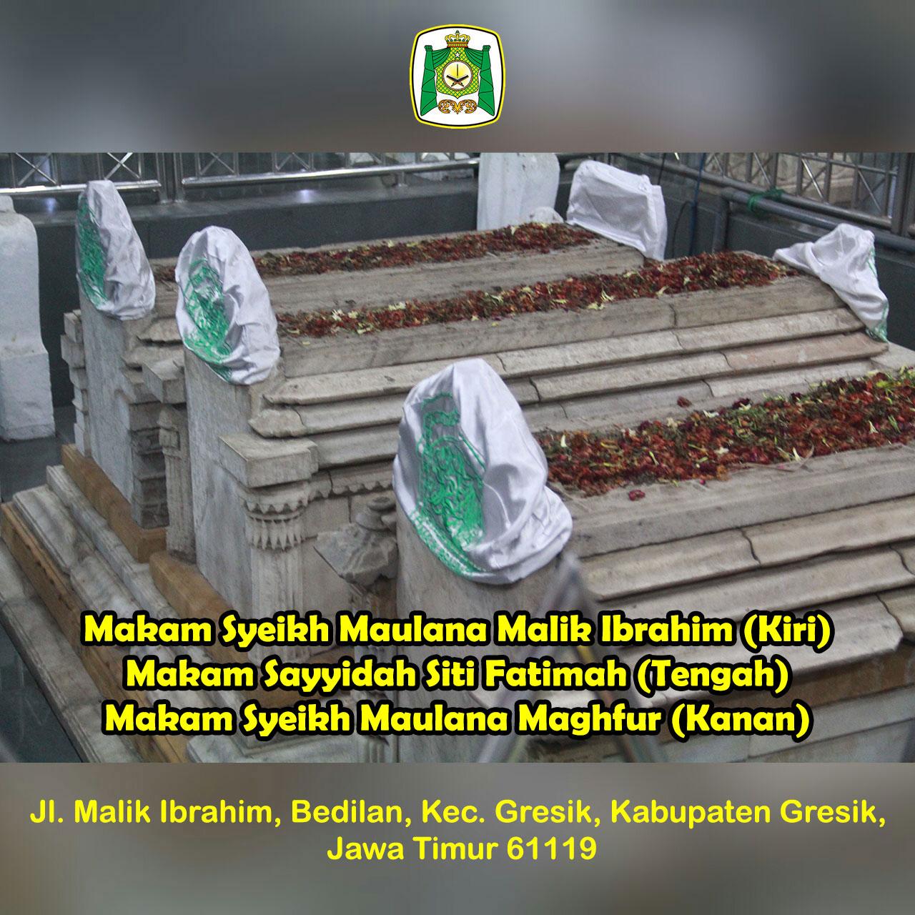 Syeikh Maulana Malik Ibrahim Almunawwarah Trans Makam Kiri Sayyidah Siti