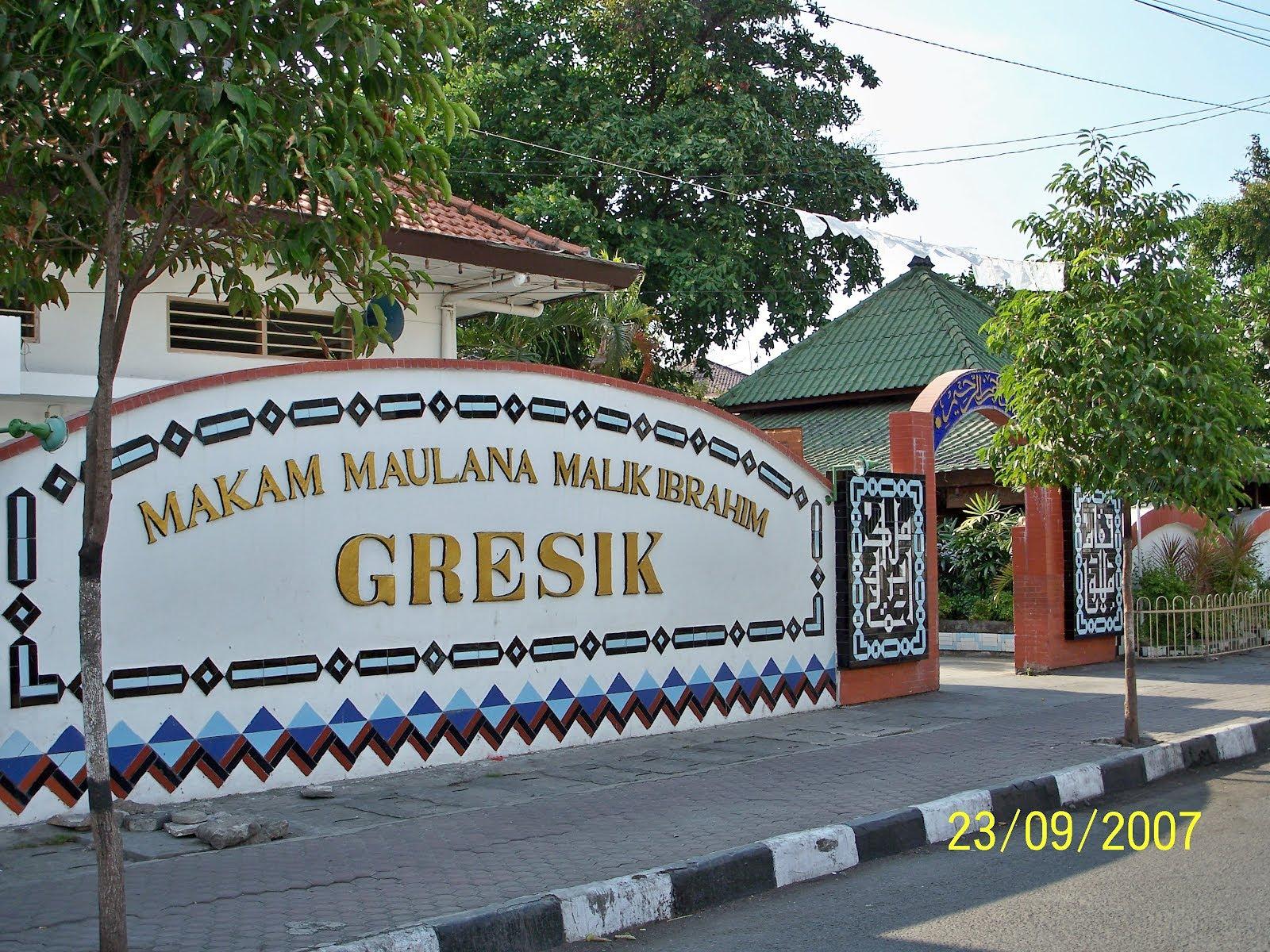 Makam Maulana Malik Ibrahim Gresik Kota Wisata Religi Mas Laros
