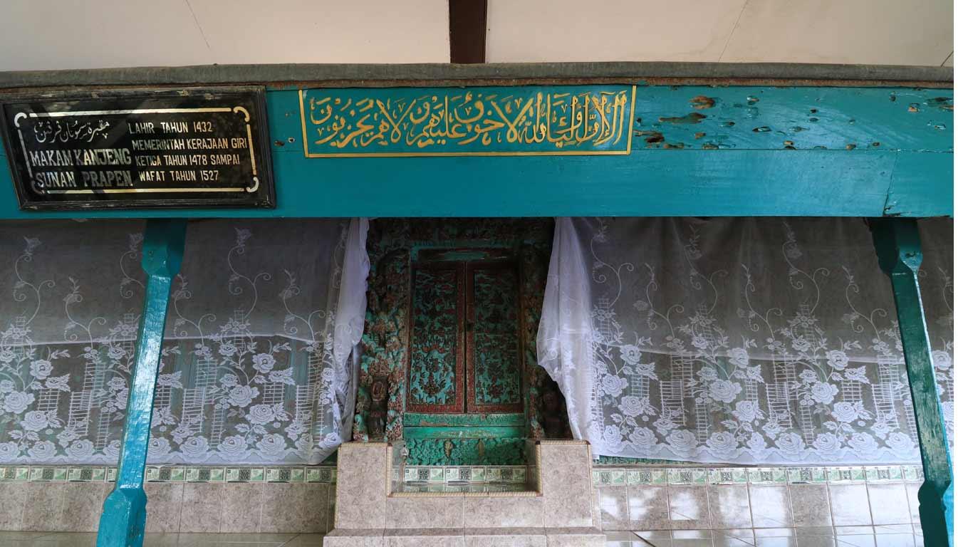 Makam Sunan Prapen Dinas Pariwisata Kebudayaan Kabupaten Gresik Alamat Desa