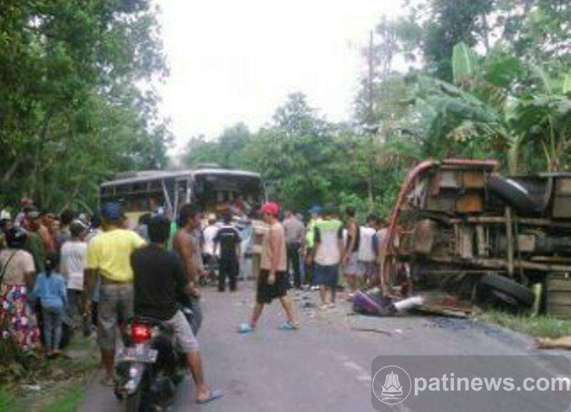 Tiga Warga Pati Jadi Korban Tabrakan Maut Jatipohon Grobogan Jati