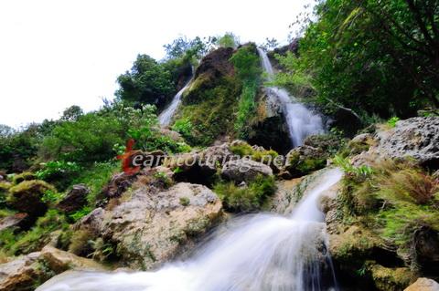 18 Air Terjun Menarik Dikunjungi Gunungkidul Yogyakarta Pemandangan Sri Gethuk