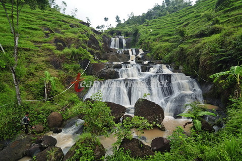 Air Terjun Kedung Kandang Gunungkidul Diantara Pemandangan Kab