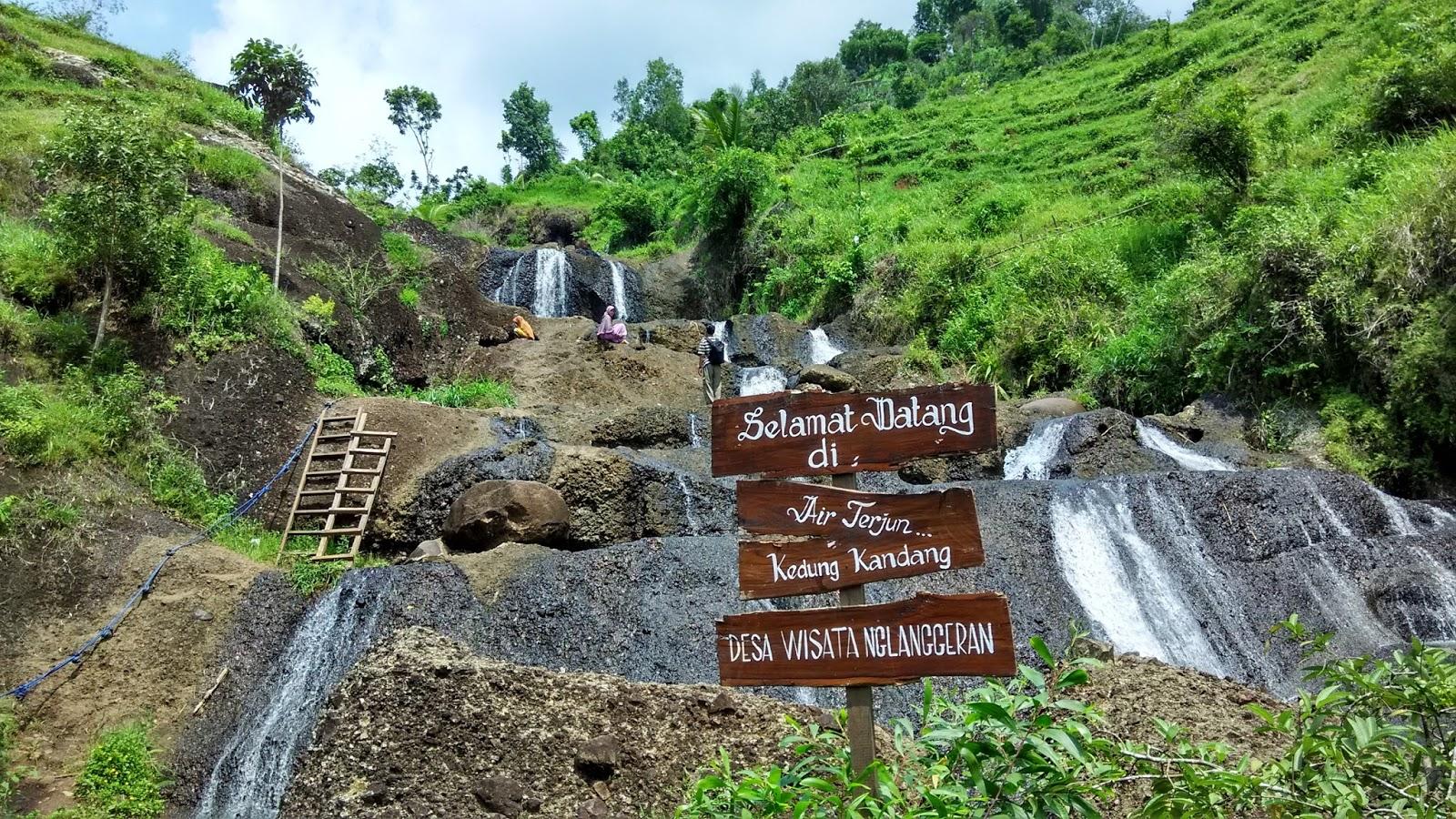 Air Terjun Kedung Kandang Nglanggeran Gunungkidul Yogyakarta Kab