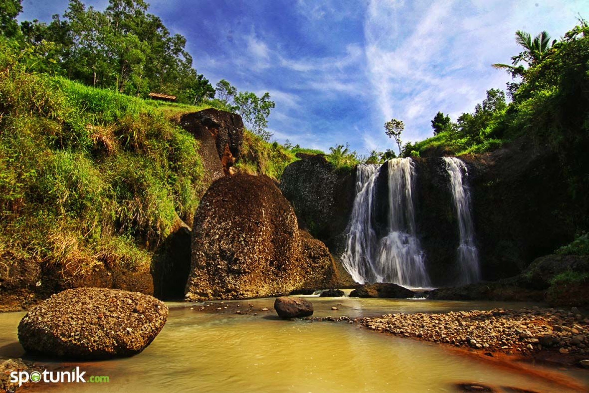 Air Terjun Kedung Kandang Pesona Patuk Kab Gunungkidul