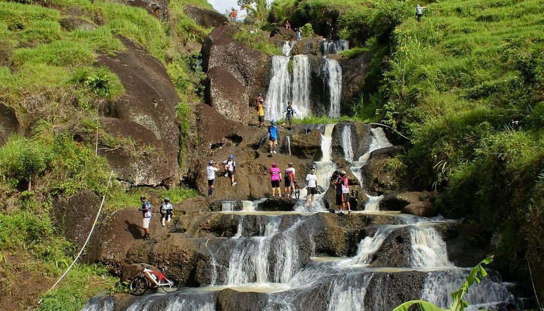 Air Terjun Kedung Kandang Wisata Alam Gunungkidul Indah Kab
