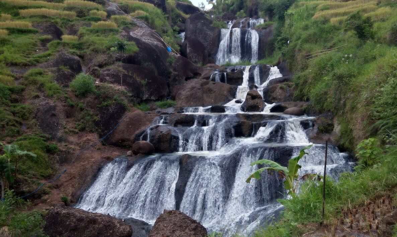 Air Terjun Kedung Kandang Wisata Alam Gunungkidul Indah Yogyakarta Kab